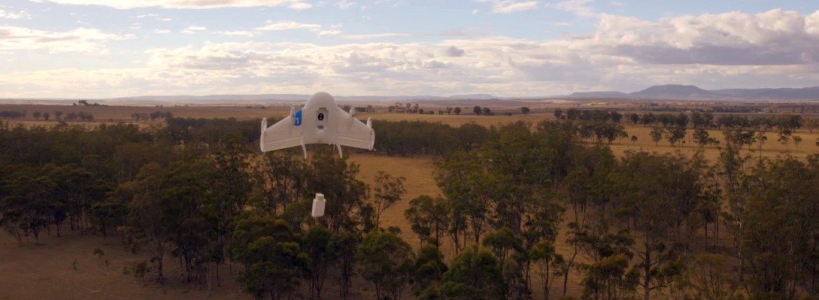 google drone project wing delivery goods australia trente