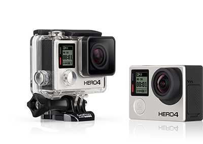 gopro hero 4+ black 4k 30fps camera