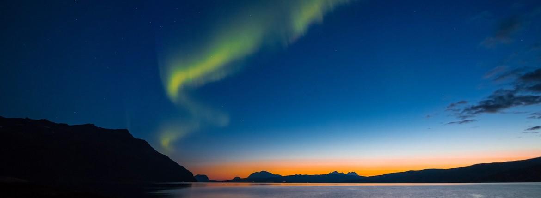 timelapse norway aurora borealis atlantic road Atlanterhavsveien trente