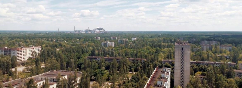 Drone films Chernobyl