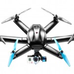 Hexo Plus drone carries a GoPro