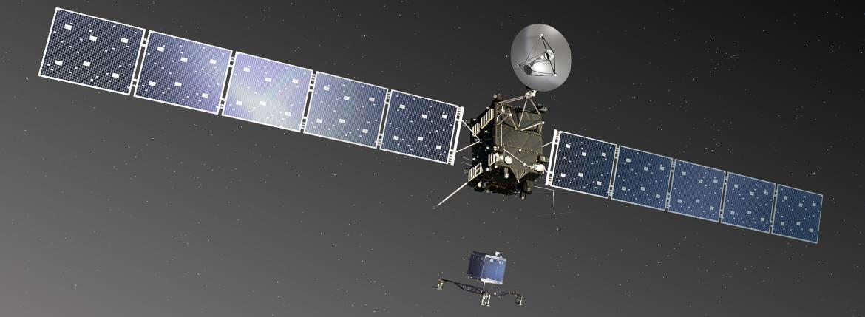 rosetta live video comet landing
