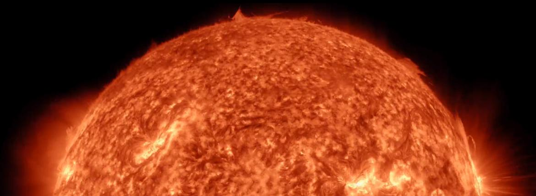 timelapse sun 4k 17000 pictures sunspot AR 2192