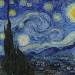 van gogh painting the starry night
