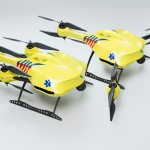Ambulance drone carries a defibrillator