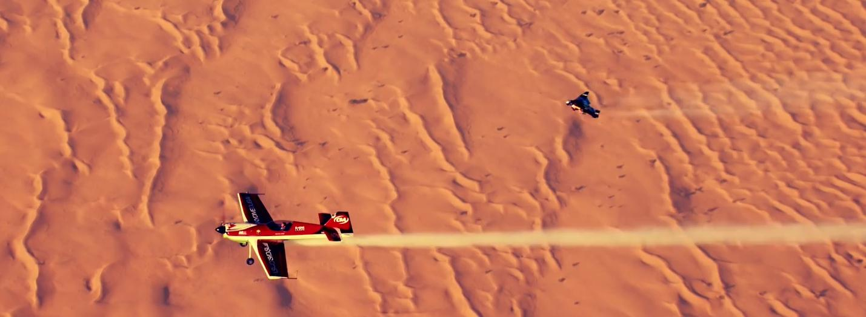 Jetman Flies In Dubai 4k Trente