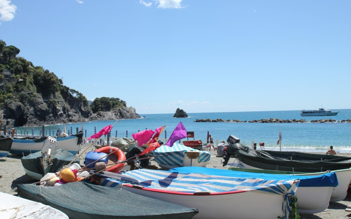 The walk started in Monterosso al Mare
