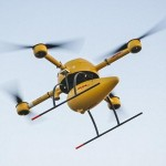 The DHL Parcelcopter delivers medicines to an Island