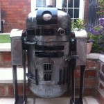 R2D2 Star Wars outdoor stove