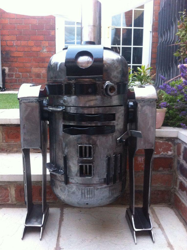 R2d2 Star Wars Outdoor Heater Stove Trente