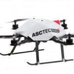 This AscTec drone detects avoids obstacles with an Intel RealSense Camera
