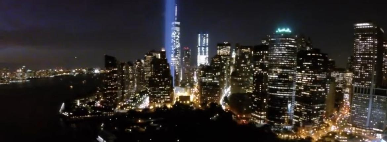 Drone films New York