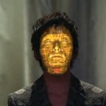 Face hacking:face tracking and  3D projection mapping